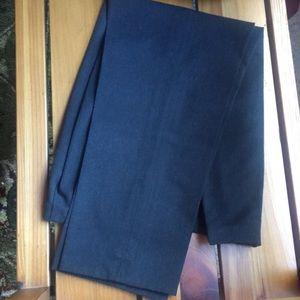 Eddie Bauer 6 stretch charcoal dress pant EUC